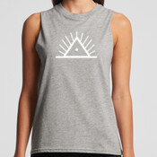 Morning People Womans Logo Tank