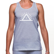 Morning People Womans Logo Singlet